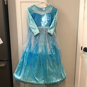 Other - Girls dress up gown Frozen inspired